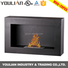Good quality free standing bioethanol alcohol glass fireplace FP-011S