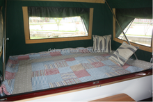 2014 New Arrival Clear Green Hard Floor Camper Trailer/travel Trailer
