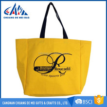customized promotional cotton tote bag shopping bag