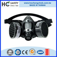 carbon filter canister silica dust portable medical mask respirators