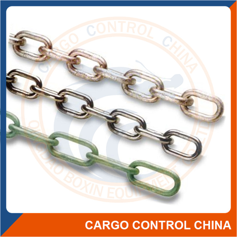 7038 Factory price UK ordinary mild steel short link chain