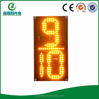 China LED new-looking single digit led sign for gas station