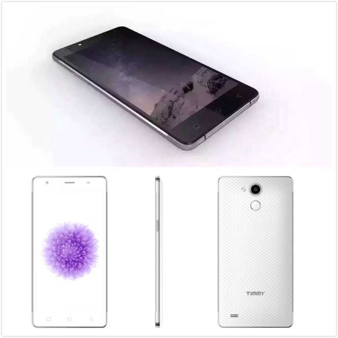 5.5 inch Android 5.1 1280*720 Fingerprint Scanner 2 GB+16GB Two camera 5+8MP Cell Phone 4G Lte Mobile Phone OEM Smartphone