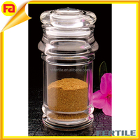 Clear acrylic seasoning bottle,wholesale custom high quality spice Jar condiment jar/clear oil pot