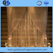 portable pipe and drape for church wedding decoration