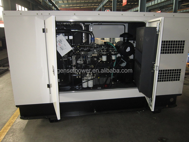 Soundproof Silent 125kva Electric Generator WIth Perkins Diesel Engine