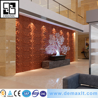 Popular crazy selling different colour marble-look Plaster 3d Wall Panel