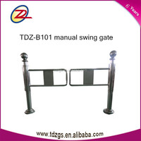 TDZ hot sell factory price supermarket one-way door manually swing barrier gate