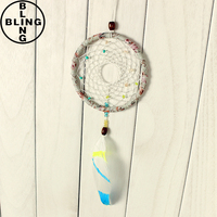 >>>Best selling Indian Feather Dreamcatcher Dream Catcher Wind Chime/