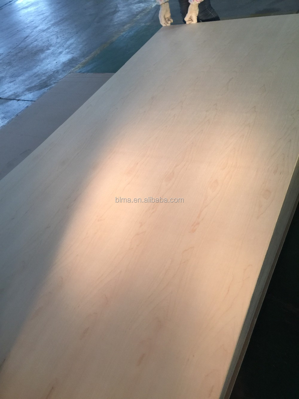 high quality oak,maple plywood with MDF