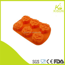 newest halloween product pumpkin cake concrete molds