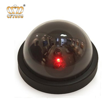 Plastic Battery Operated Dummy Dome Security Camera Outdoor