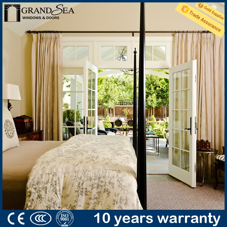 Australia standard laminated double glass building french door frame designs