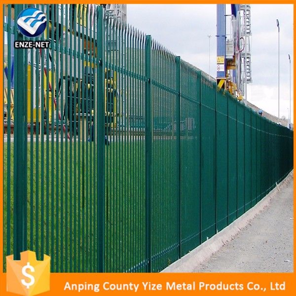 China Metal fence wrought iron fence iron grill design for balcony
