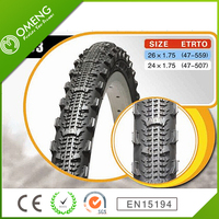 Promotion Top Quality Natural Rubber Bicycle Tire 26/24*1.75