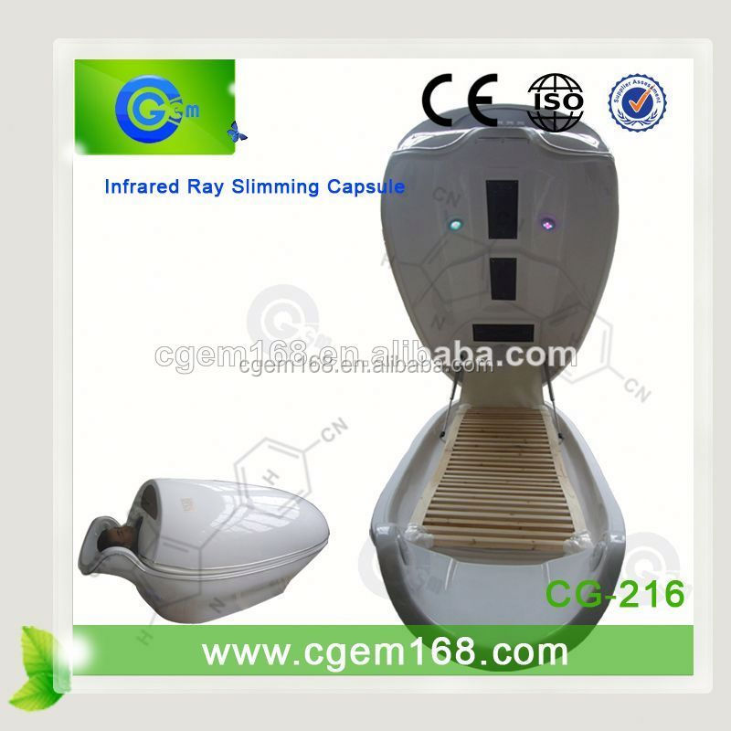 CG-216 Professional Far infrared ray ab slim cellulose capsule for salon use