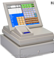 "Easy operated 12 "" linux cash register touch pos system"