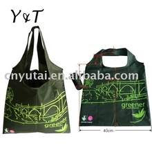 recycle promotional polyester foldable bag(SF020)
