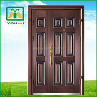 YMF-Z911 Best Quality Antique Steel Compound Door