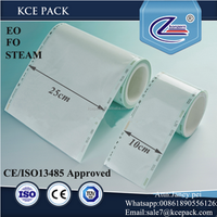 PET CPP Composite film heat sealing pouch roll with sterile indicators