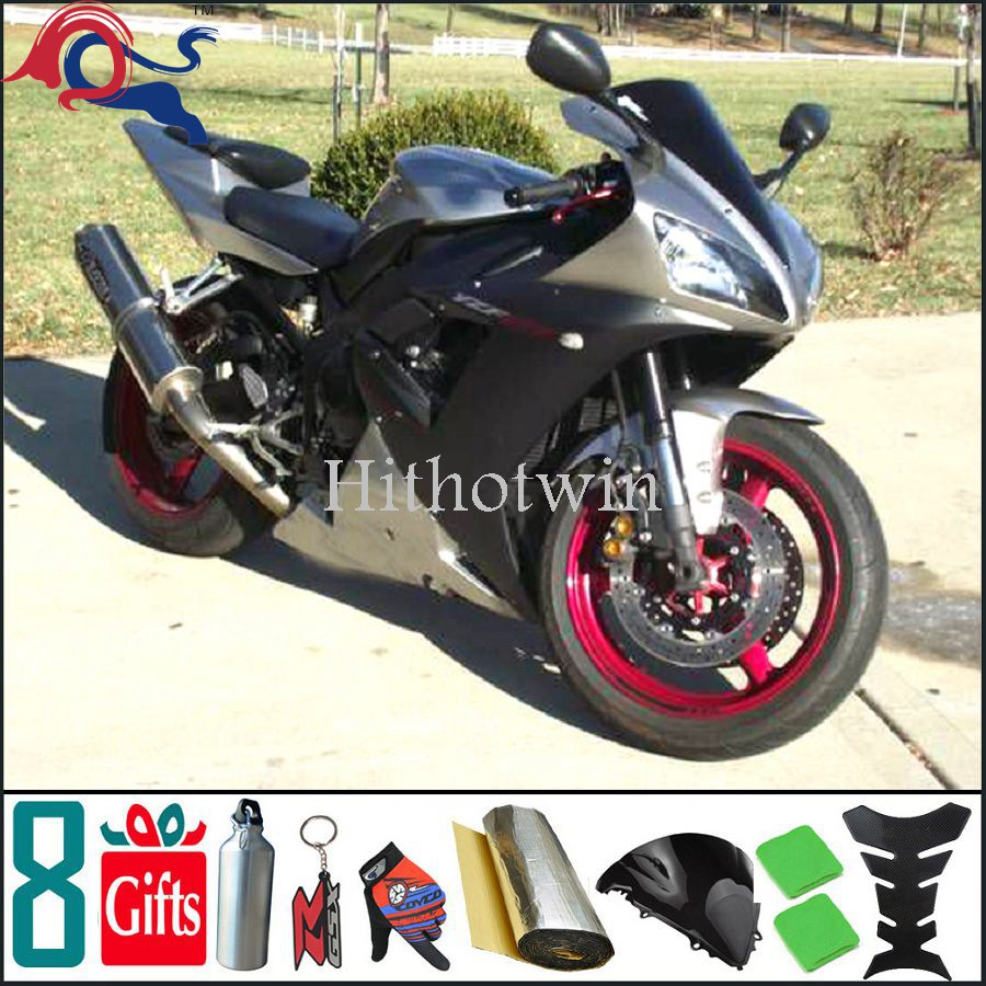 Aftermarket Motorcycle 2002 2003 black Custom Fairing Fit For yamaha YZF R1 2002 2003