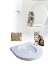 Pet toys cat toilet training kit