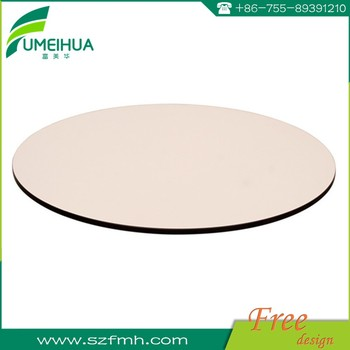 Fumeihua phenolic resin hpl outdoor dining table top
