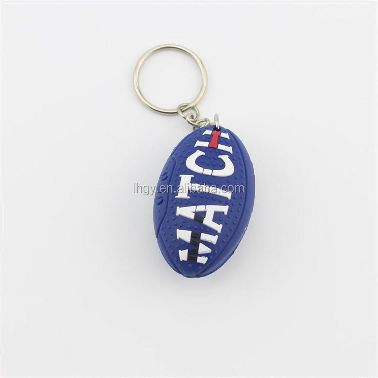 High quality custom pvc key chain promotion pvc rubber keychain