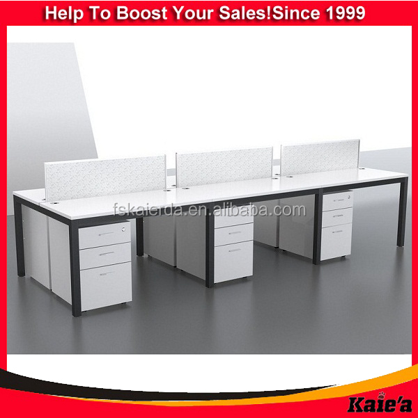 wholesale wood white display table modern office table