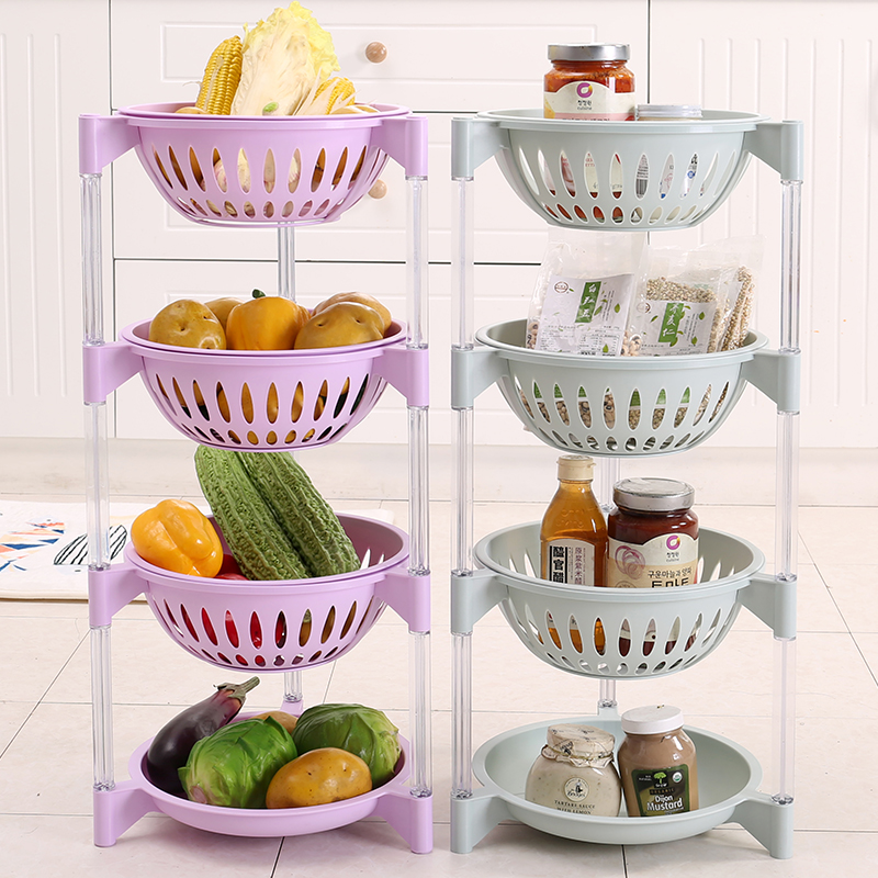 Wholesale Round Shape Plastic home triangle storage rack shelf, Toy storage rack,plastic storage rack