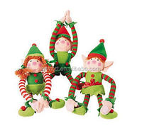 christmas hanging elf/christmas elf doll/christmas elf costumes