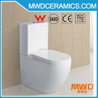 Australian Watermark Certificated Water Ratting Two Piece Wash Down Ceramic Toilet