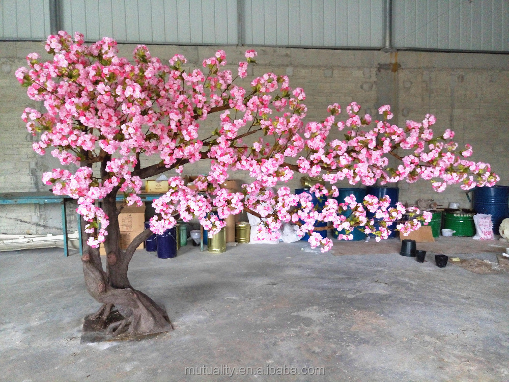 HOT wholesale Beautiful wedding tree artificial cherry blossom tree fake cherry blossom trees with high quality