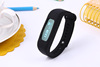 Bluetooth 4.0 digital smart wristband, silicone wristband step counter, portable bracelet fitness tracker