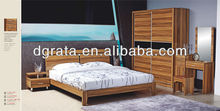 Thanksgiving season discount product:new design wooden bed room suit is uesd MDF board to finish for the bedroom furniture sets