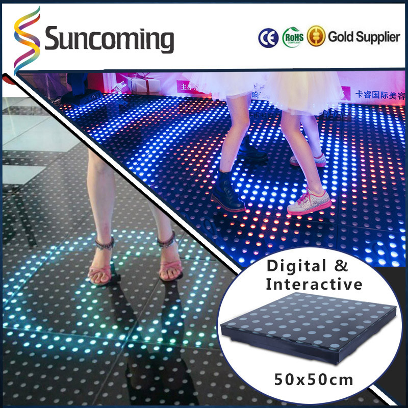 Patent Design Creative Digital Weiwght Interactive Used Dance Floor For Sale