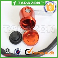 High quality customize motorcycle spare parts brake fluid reservoir for bajaj pulsar 180