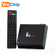 NEW ARRIVAL KII Pro Combo TV box S905 2G 16G Android DVB S2 T2 4k satellite receiver