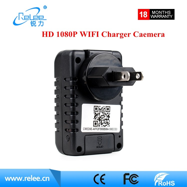 New Style FHD mini charge camera WIFI Hidden video Camera