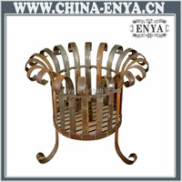 High quality factory price outdoor wood burning table fire pit