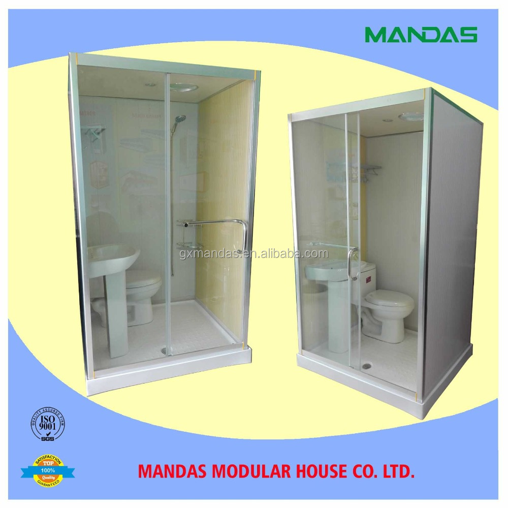 China Prefab Modular Bathroom &Toilet, Shower Room