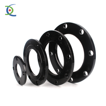 all size hdpe pipe end/black color pe flange end cap/plastic water pipe protect end cap