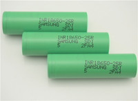 Original samsung 25r 2500mah inr 18650 battery 30a, rechargeable 18650 battery for Samsung mod ecig ps4