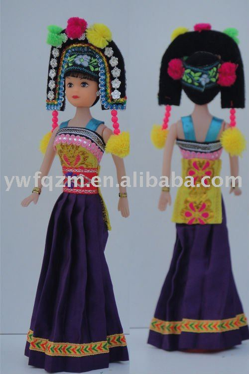 souvenior chinese doll