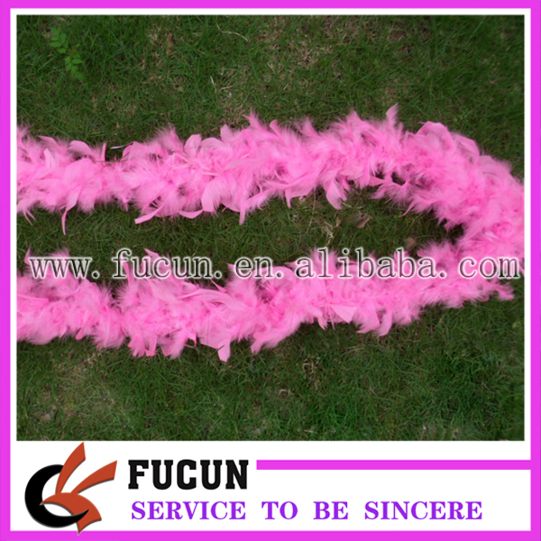 fashion Turkey feather boa for decoation