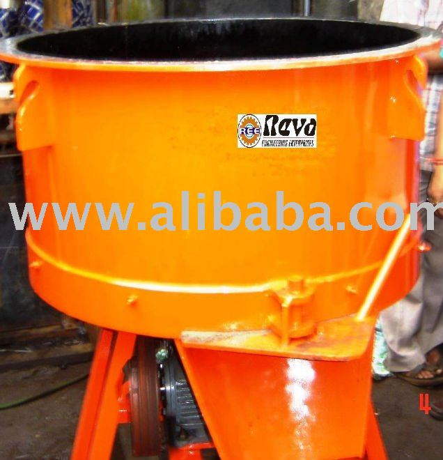 Pan Type Concrete Mixers