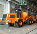 BZK A300D articulated dump truck and spare parts