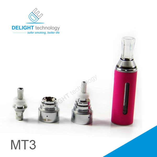 2014 rebuildable electronic cigarette mt3 clearomizer evod mt3 atomizer with different colors OEM welcomed PayPal accepted