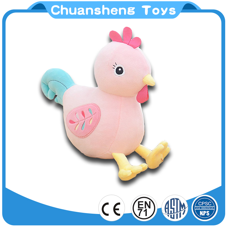 CHStoy Factory Fashion Custom design Chicken animal plush toy soft stuffed for baby