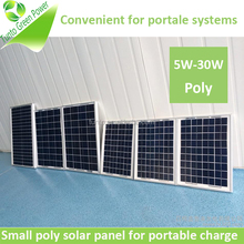 High quality small solar panels poly PV solar module in stock
